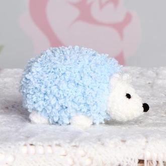 Ёжик маленький голубой
