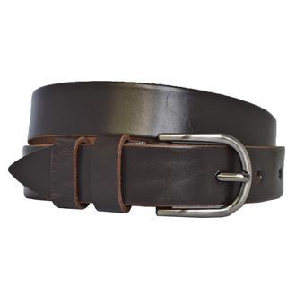 Ремень кожаный женский коричневый  vintage28
