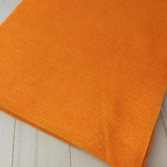 Фетр мягкий 1.4 мм оранжевый