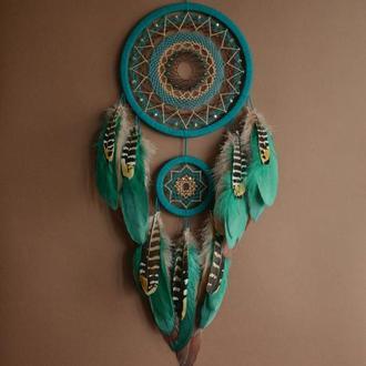 ловец снов, декор и оберег снов, оригинальный подарок