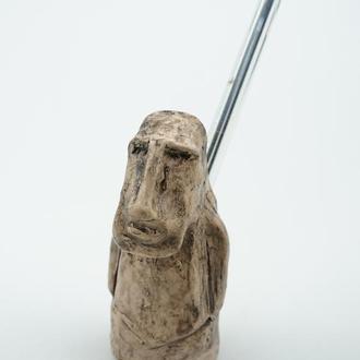 Подставка под карандаши  статуэтка идол с острова Пасхи