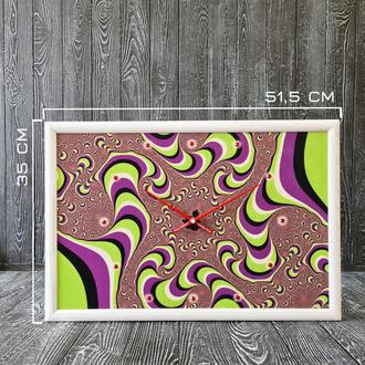 """Настенные часы """"Оптическая иллюзия"""""""