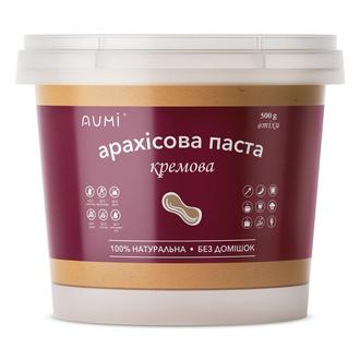 Арахисовая паста кремовая, 500г, ведро, натуральная без добавок