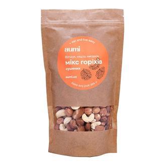 Смесь орехов №1 - сушеные фундук, миндаль, кешью, 300г, орехи сырые, ореховый микс ассорти