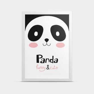 Постер Большая панда 30*40 см
