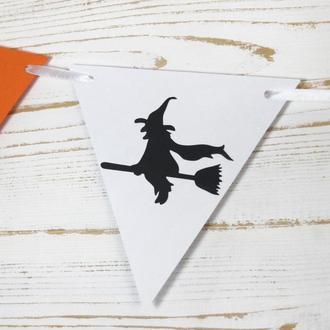 Гирлянда на Хеллоуин 20 флажков