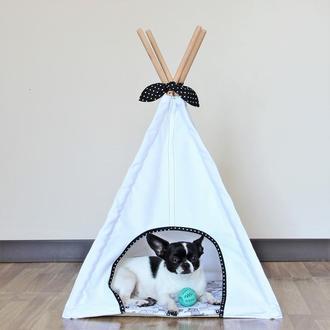 Виг-вам для собак и котов белый