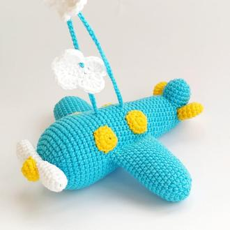 Літак м'яка іграшка