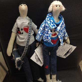 Эксклюзивные куклы Тильда по фотографии