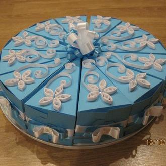 Торт-бонбоньерка