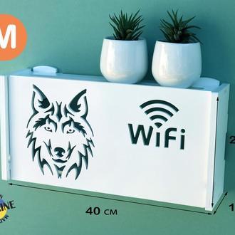 Полка для роутера WiFi коробка под свич маршрутизатор тюнер свитч коммутатор