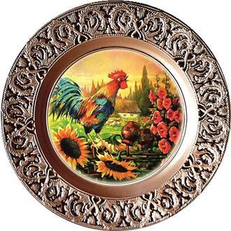 Декоративная тарелка Пейзаж