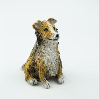 Статуэтка собака породы Шелти