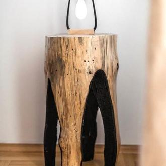 Прикроватный столик Пень