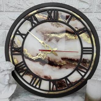 Настенные часы. Часы из дерева. Часы из эпоксидной смолы