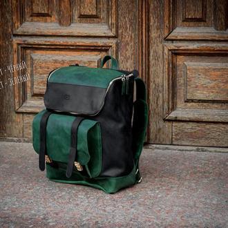 Мужской кожаный рюкзак, Повседневный кожаный рюкзак