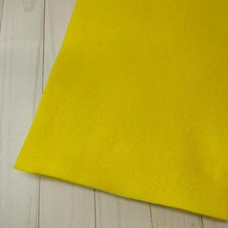 Фетр мягкий 1.4 мм яркий желтый