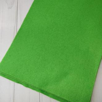 Фетр мягкий 1.4 мм травяной