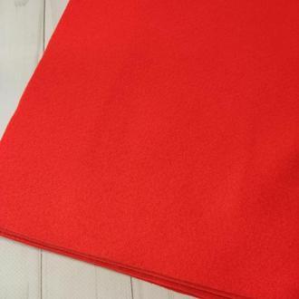 Фетр мягкий 1.4 мм ярко красный