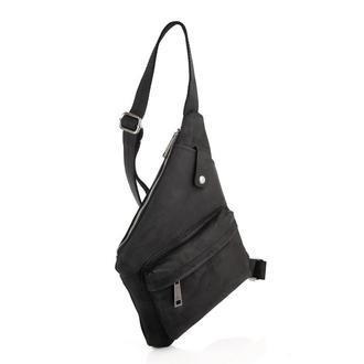 Рюкзак слинг через плечо, рюкзак моношлейка RA-6501-4lx бренд TARWA из лошадиной кожи
