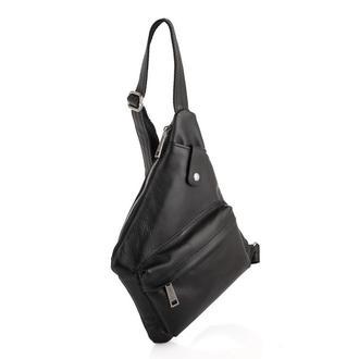 Кожаная сумка через плечо, рюкзак моношлейка GA-6501-4lx бренд TARWA