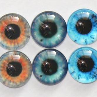 Стеклянные глазки для игрушек 16 мм