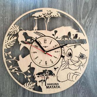Хендмейд часы в детскую «Король Лев. Симба»
