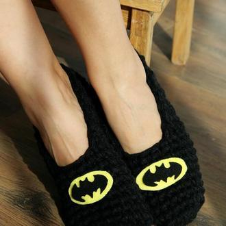 """Домашние тапочки """"Бэтмен"""""""