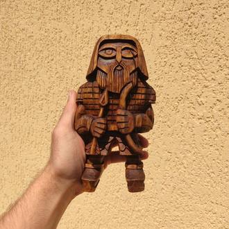 Деревянная статуэтка «Лучник / Улль»