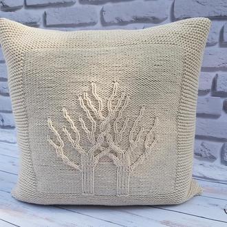 "Декоративная диванная подушка ""Дерево жизни"""