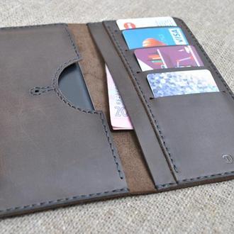 Кожаный чехол для смартфона H02-450
