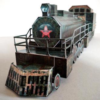 Масштабная модель поезд Аврора