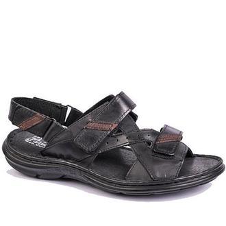 Шкіряні чоловічі сандалі