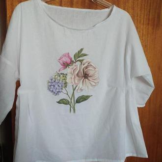 Блузка жіноча з розписом