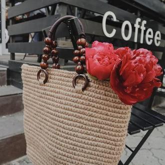 Джутовая сумочка ✨ 𝐌𝐚𝐫𝐠𝐚𝐫𝐞𝐭 ✨