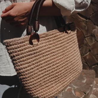 Джутовая сумочка ✨𝐀𝐧𝐧𝐚✨