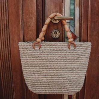 Джутовая сумочка ✨𝐄𝐥𝐢𝐳𝐚𝐛𝐞𝐭𝐡 ✨