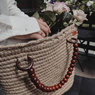 Джутовая сумочка 𝐍𝐚𝐨𝐦𝐢
