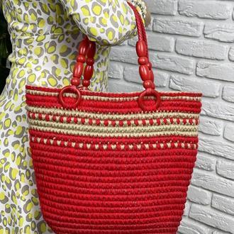 Джутовая сумочка 𝐌𝐨𝐧𝐢𝐜𝐚