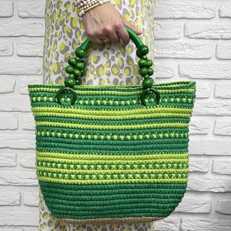 Джутовая сумочка  𝐑𝐚𝐜𝐡𝐞𝐥