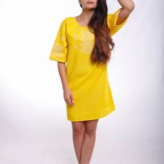 Женское вышитое платье «Гармонія»