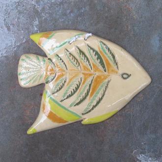 Керамічна плакетка на стіну Риба