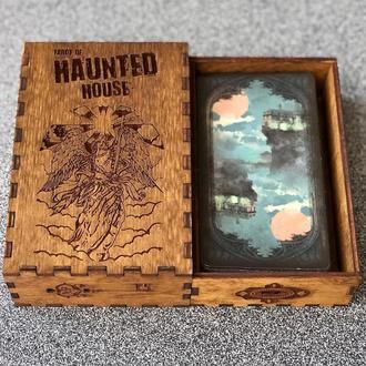 Шкатулка для карт Таро Дом с приведениями