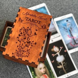 Шкатулка для карт. . . . . .  🧚♀️ Таро Николетта Чекколи 🧚🏼