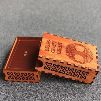 Шкатулка для карт 🦅 Druid Craft Tarot 🦅