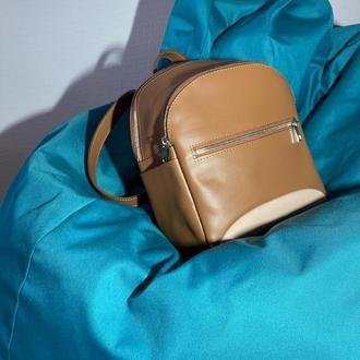 Рюкзачок из натуральной кожи