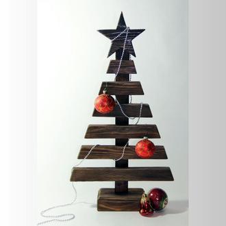 """Новогодняя елка """"Классик"""" из дерева"""