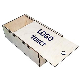 Коробка из фанеры 34х18х10 см
