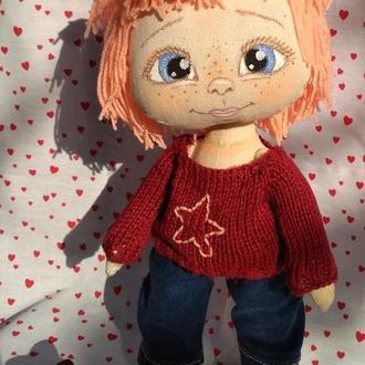 Текстильная кукла Зоряна