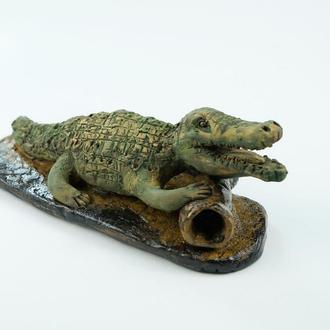 Статуэтка крокодила подарок-талисман